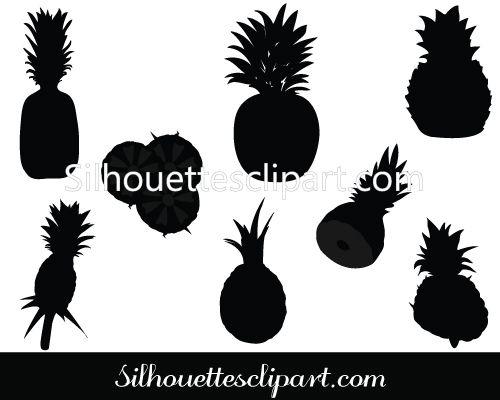 pineapple silhouette png. binocular silhouette clipart - clip art | general vector graphics pinterest binoculars pineapple png