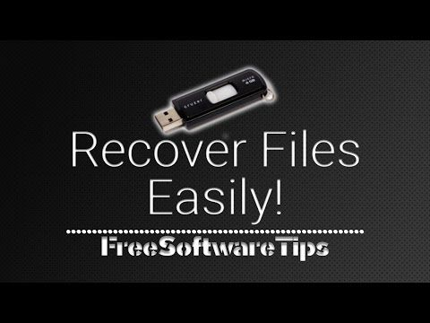 Show Recover Hidden Files On Usb Drives Or Flash Drives With