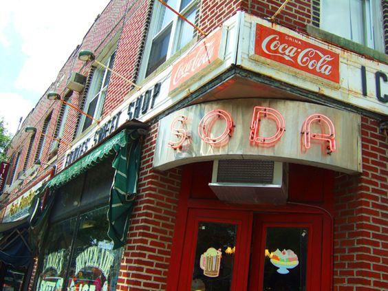 vintage soda shops - Google Search