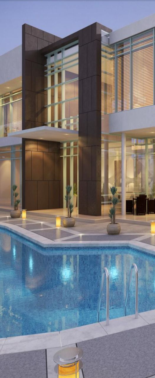 Private villa dubai by giuseppe colosimo 2 for Glass house luxury villa