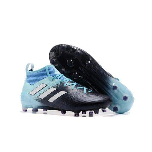 adidas ace 17.1 primeknit fg noir/bleu