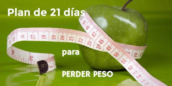 Plan de 21 días para perder peso