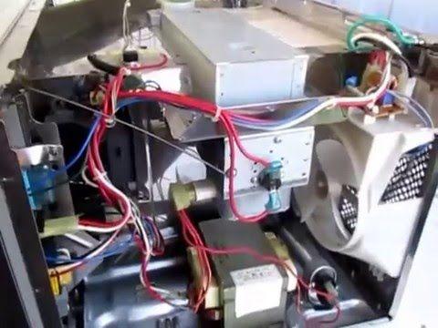 Como Reparar Un Microondas Que No Ensiende Y No Calienta Amana Comercial Youtube Microondas Reparar Reparación