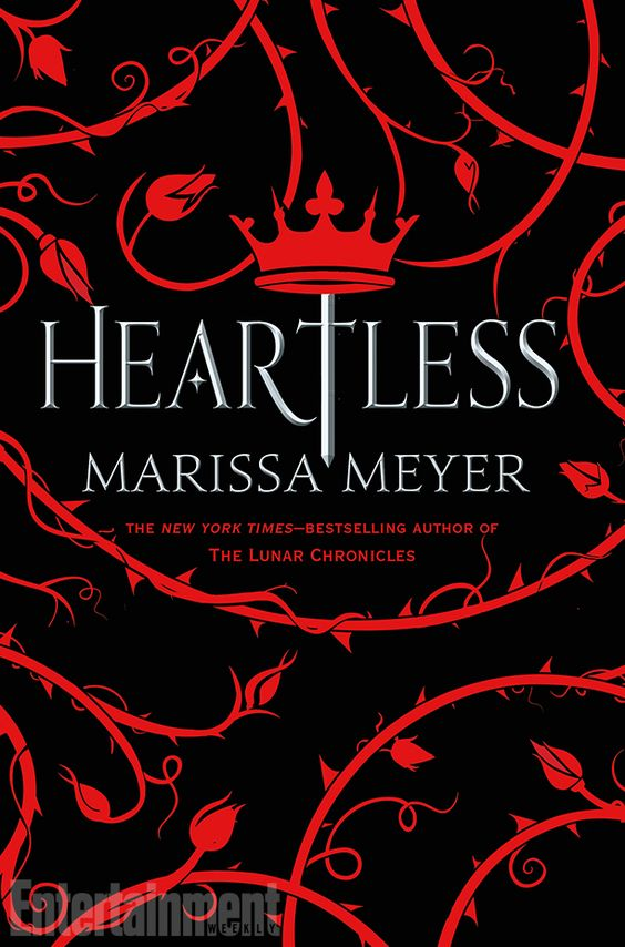 COVER REVEAL! Heartless by Marissa Meyer officially has a cover! Isn't it gorgeous? This book was featured in my Most Anticipated Books of 2016 post @ www.katsyxo.com so obviously I'm super excited!  There is also an exclusive excerpt from the book, so read on to get the first glimpse at this November 2016 release!