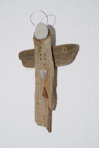 ~ AMIA ~ Schutzengel aus Treibholz von nordic Art auf DaWanda.com