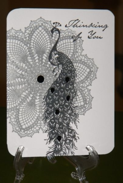Peacock by Cara Denise - Cards and Paper Crafts at Splitcoaststampers