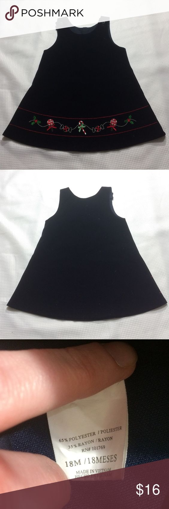 Which christmas gown ideas with holed - Black Velvet Christmas Dress Euc No Holes Or Stains Dresses Formal