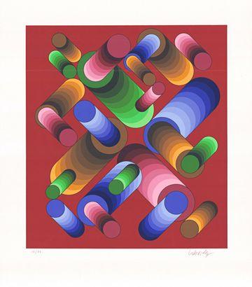 Victor Vasarely  Vasarely ,Oslop 3