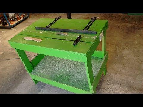 Mesa Caseira Para Serra Circular Manual Skil Saw Show Do Miro Youtube Best Router Table Skil Saw Router Tables