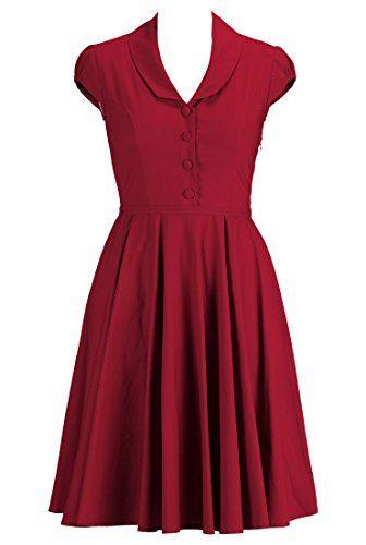 eShakti Women's Shawl collar A-line dress S-6 Short True red eShakti http://www.amazon.com/dp/B00LB02SJO/ref=cm_sw_r_pi_dp_InSTtb0J29BGYERS