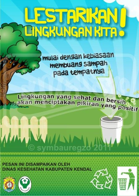 Contoh Poster Lingkungan : contoh, poster, lingkungan, Poster