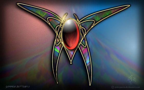 Summer Butterfly by PeterPawn.deviantart.com on @DeviantArt