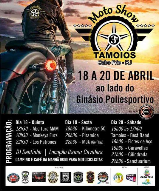 Visao La Flora Em Tamoios 3º Moto Show Sera A Atracao Na Semana Show Atracao Ginasio Poliesportivo