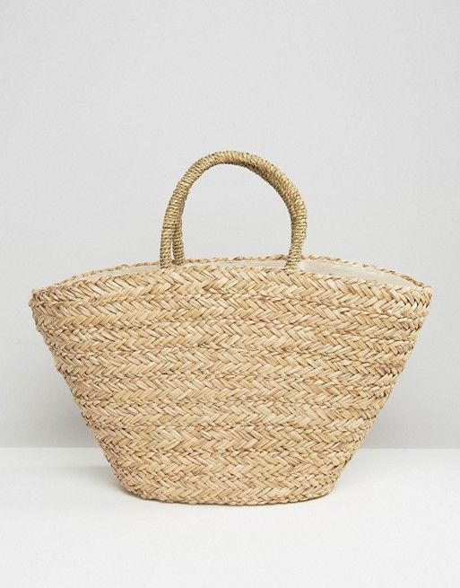 Seagrass Tassel Tote Bag: