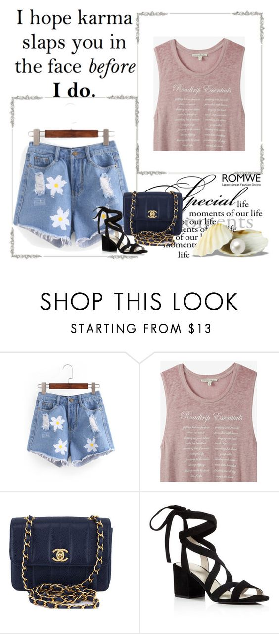 """Untitled #89"" by anela-i ❤ liked on Polyvore featuring Express, Chanel and Kenneth Cole"