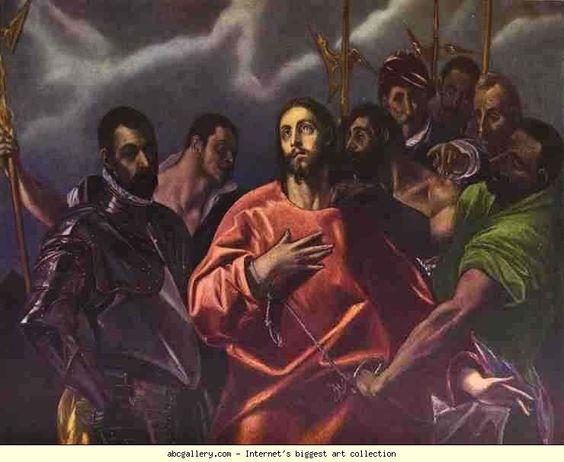El Greco. The Disrobing of Christ.