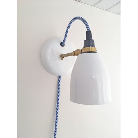 Lovell Plug In Wall Sconce Plug In Wall Sconce Wall Mounted Bedside Lights Wall Sconces