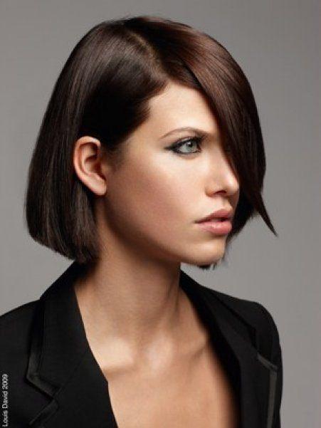 coiffure carre droit