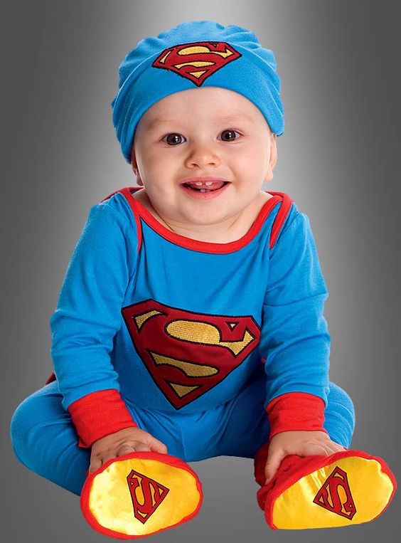 Superman Babykostüm 68-74