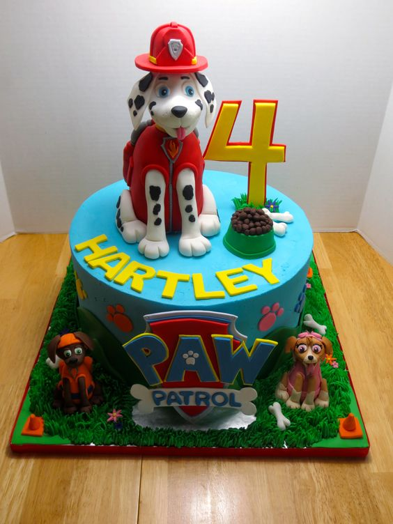 paw+patrol+cake | PAW PATROL Birthday Cake: