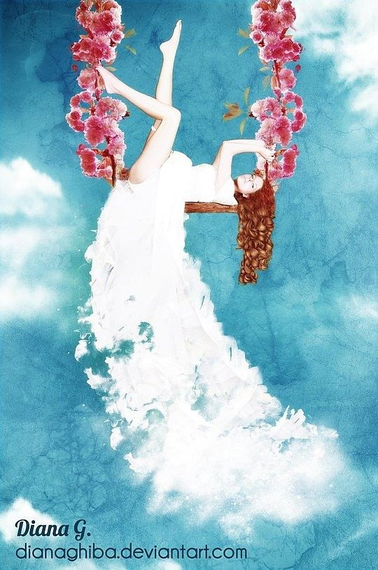 Inspiring Digital Illustrations by Diana Ghiba