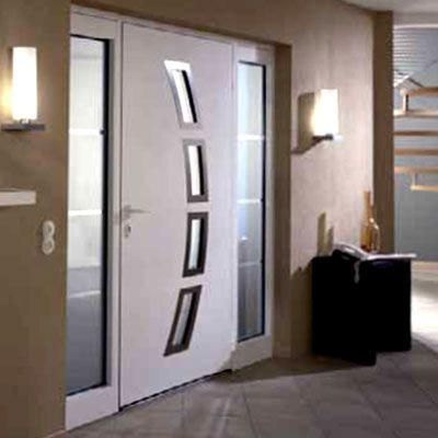 Puertas interiores ultra modernas para diferentes for Puertas de madera interiores