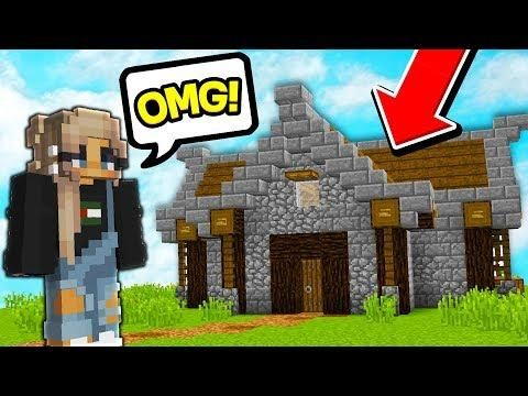 Her Minecraft Skyblock Island Got Griefed So I Surprised Her With A New One Minecraft Island Minecraft Houses