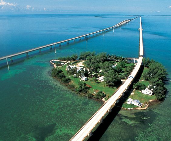 Historic Seven Mile Bridge - Florida Keys