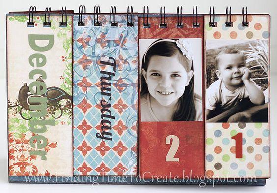 Diy Flip Calendar : Calendar words and inspiration on pinterest