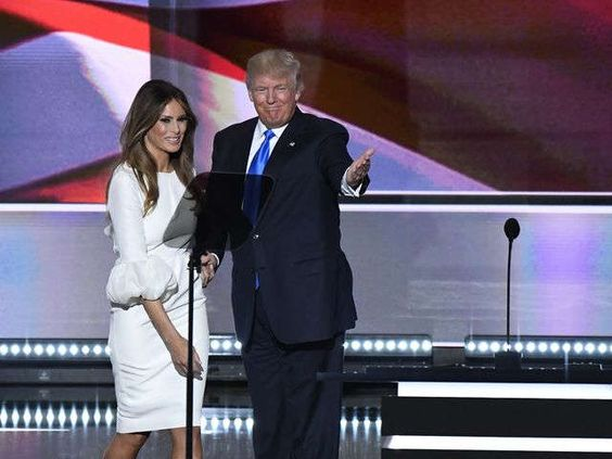 Trump introduces wife Melania to national audience, predicts victory