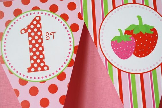 Berry sweet 1st birthday party