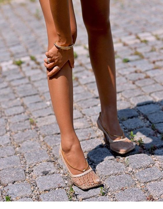 bottega veneta net shoes