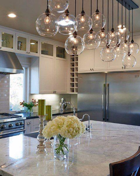 Top 50 Best Kitchen Island Lighting Ideas Interior Light Fixtures Modern Kitchen Lighting Industrial Kitchen Lighting Kitchen Lighting Design