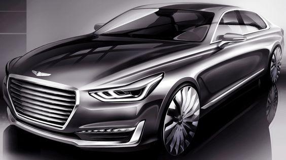 Hyundai Genesis G90 unveiled , Car News - K4car.com