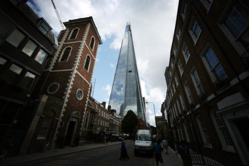 The Shard , (the highest building in Europe), London