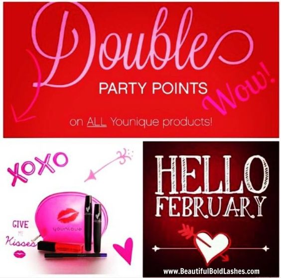 Host An Online Party | Love It Bundle | Passionate Precision Pencils | Eye Liner | Lovesick Lip Gloss | Glam Bag | Younique | Younique Products | Black Status Presenter | Exclusive Black Status Presenter | Exclusive Black Status Younique Presenter | Join My Team | Direct Sales | Make Money | Financial Freedom | Success | Happiness | Makeup | MUA | Stay At Home Moms | Younique Team | 3D Fiber Lash Mascara | February Kudos | Customer Kudos | www.BeautifulBoldLashes.com