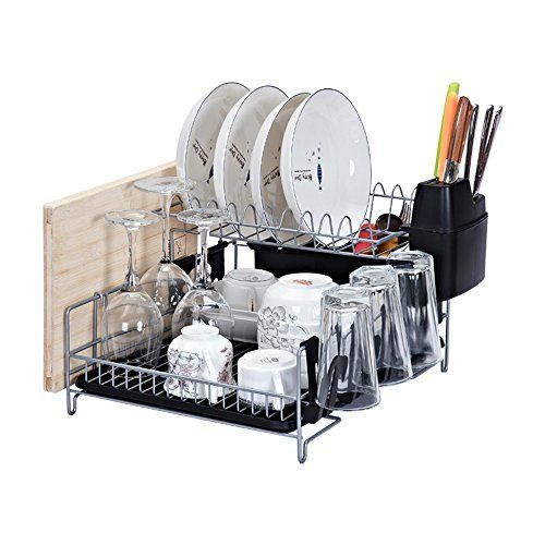 Kitchen Dish Rack Stainless Steel 2 Tier Dish Rack With Https