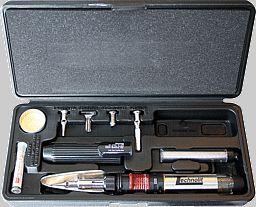 Gaslötkolben-Set mit Deflektor - Ideal zum mobilen Lösen, Trennen und Schrumpfen.