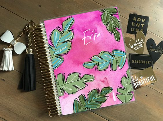 This Listing Is For An Original Stylish Planner Interchangeable Cover Front And Bac Erin Condren Life Planner Covers Recollections Planner Happy Planner Cover