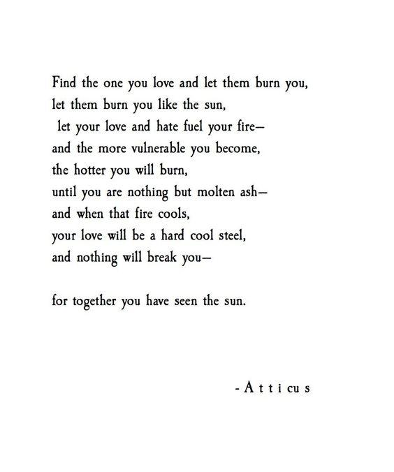 'Let them burn'   @atticuspoetry #atticuspoetry