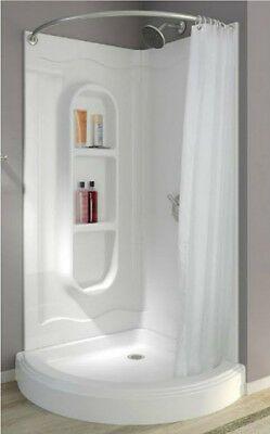 corner shower stalls kits walk in one