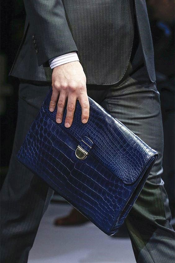 Mens alligator bag, alligator briefcase   Väskor
