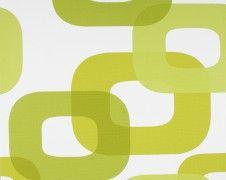 Retro Vliestapete - Tapete by Lars Contzen 6231-19 Retro grün weiß