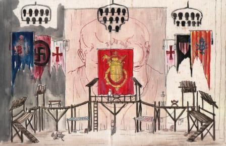boceto teatral