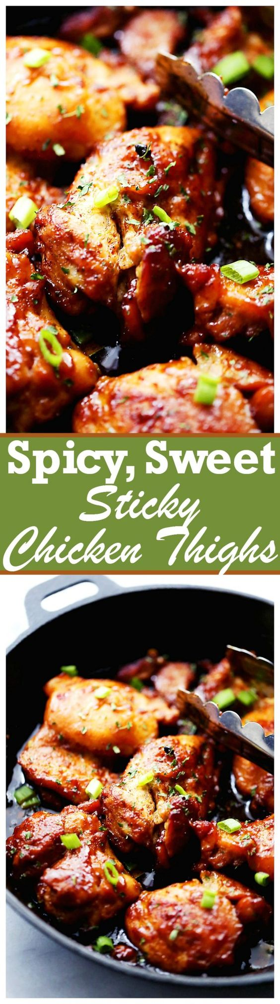 and more sticky chicken thighs sticky chicken one skillet meals ...