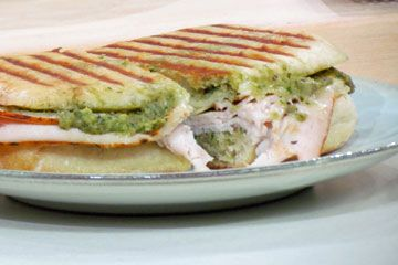 Paninis, Artichokes and Turkey on Pinterest