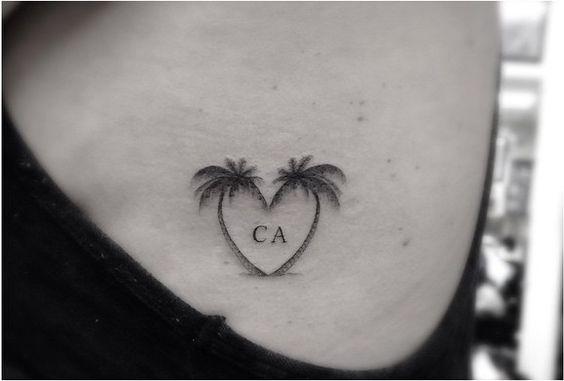 tattoo dr woo 2 palm trees - Recherche Google