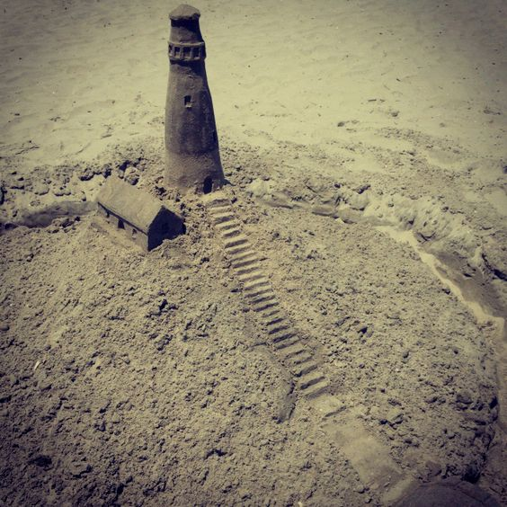 sandcastle #beach