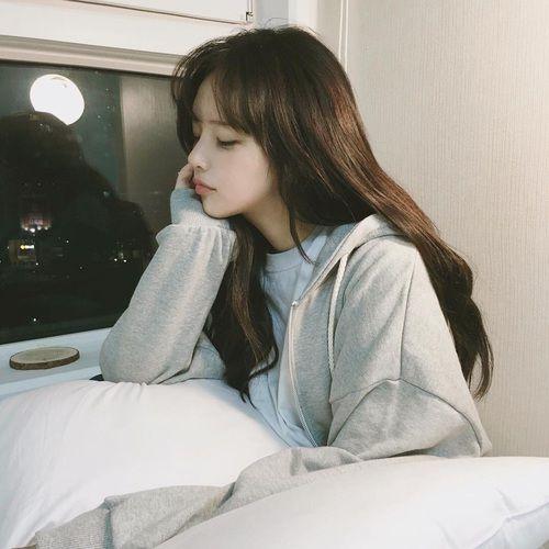 girl, korean, and ulzzang image: