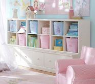 Bookshelf idea:  Cameron 3 Cubby & 3 Drawer Base Set